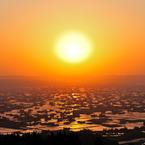 NIKON NIKON D700で撮影した風景(黄金散居村)の写真(画像)