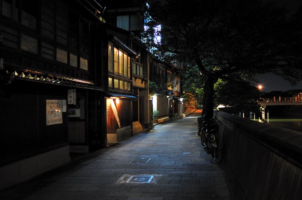 金沢・風情-主計町(かずえまち)茶屋街界隈Ⅱ-