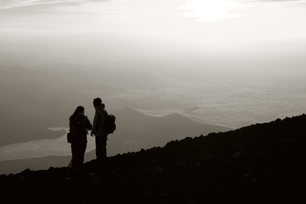 山頂のコイビト