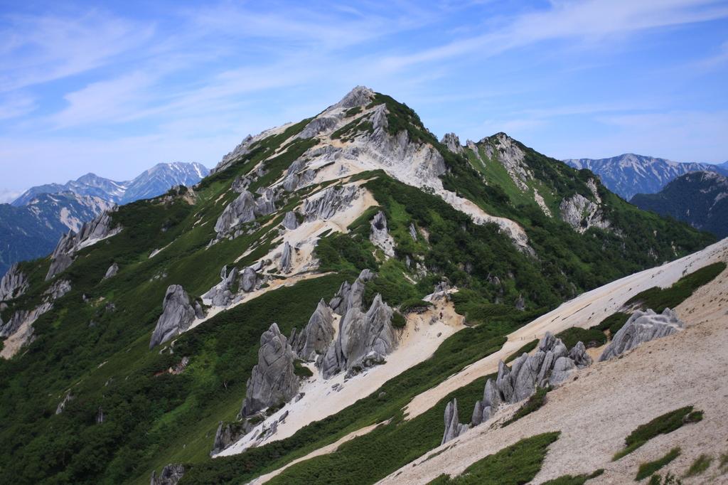 燕岳 2763mの頂き