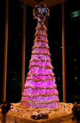 FOUR SEASONS ホテルのクリスマスツリー