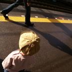 SONY DSLR-A100で撮影した人物(静と動)の写真(画像)
