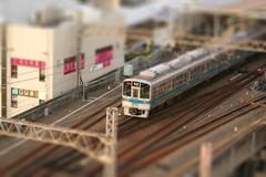 ミニチュア小田急線
