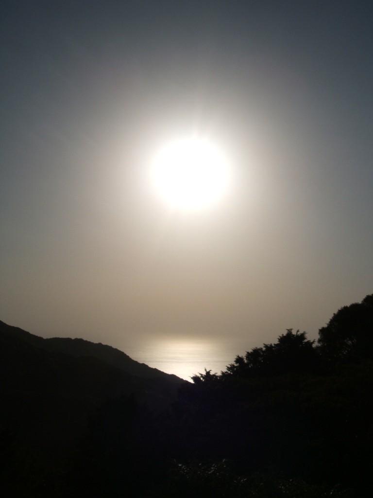太陽と大洋
