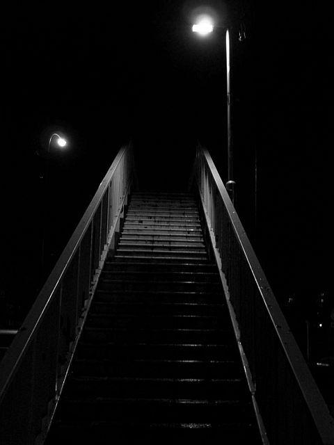 far stairs