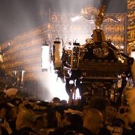 CANON Canon EOS Kiss Digital Xで撮影したインテリア・オブジェクト(夜・神輿)の写真(画像)