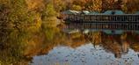 ボートハウスの秋