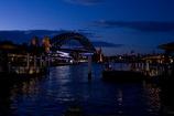 Sydney in blue