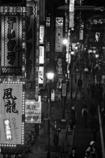 電信柱に染み付いた夜