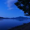 洞爺湖の夜明け
