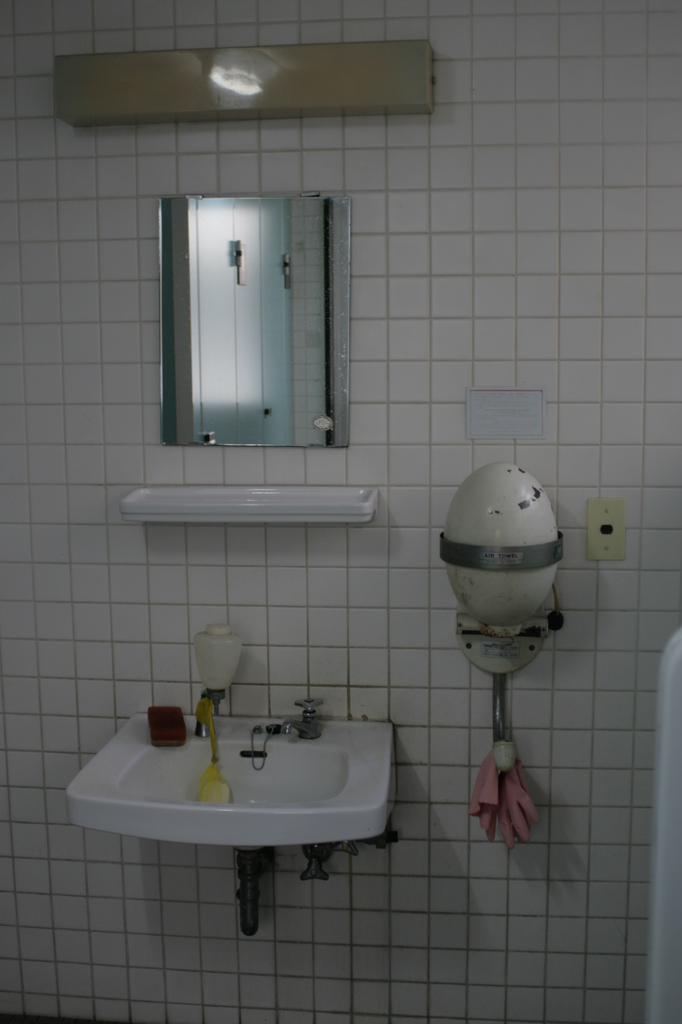 古いトイレ