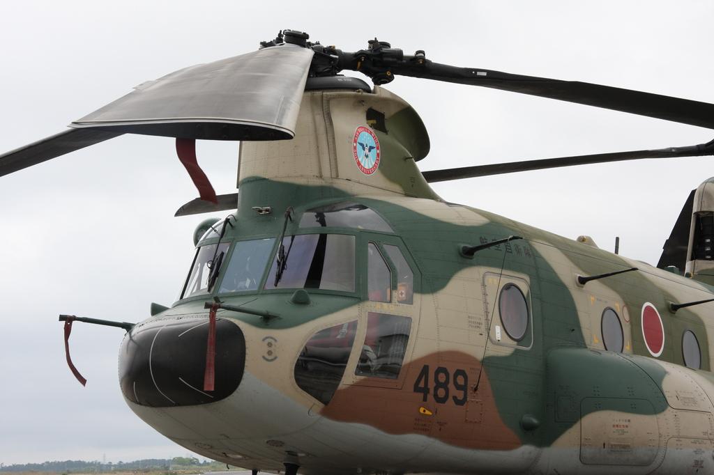 CH-47J ヘリコプター