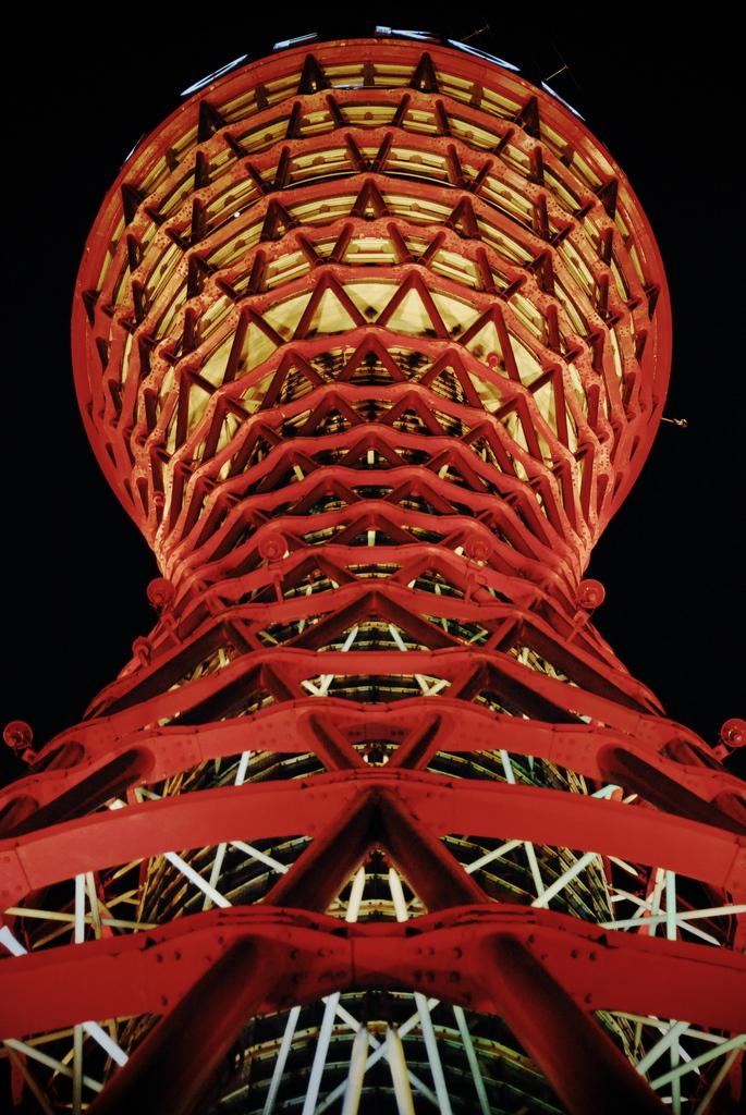 赤い流線型