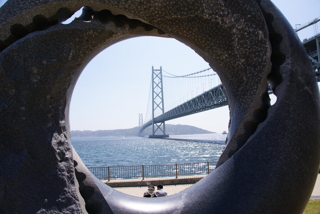 「橋、きれいだね」