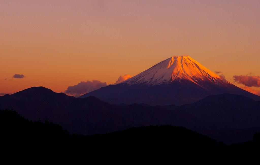 山のgradation。