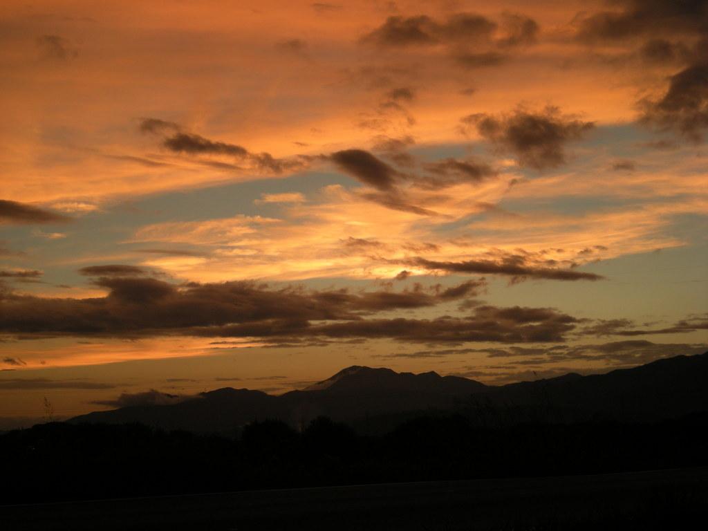 雲と陽と空と・・・
