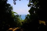 久高遙拝所(くだかようはいじょ)からの久高島