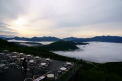 やっと見れた雲海!!