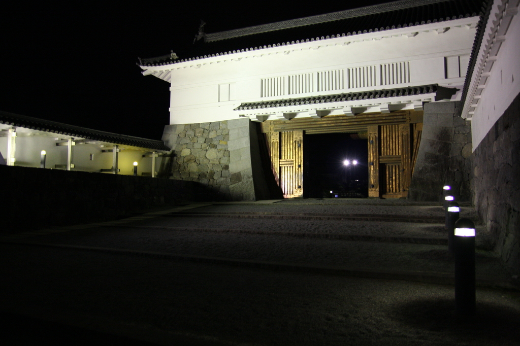 Entrance to the Odawara castle
