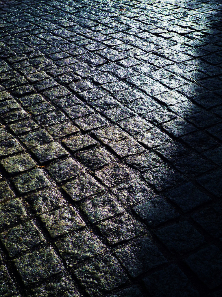 Stone-pavement