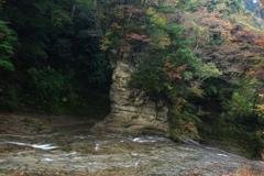 粟又の滝 上流部
