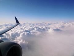 雲の上の世界へ