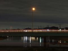 綾瀬川夜景