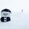 しまむらくん in a Snowfield