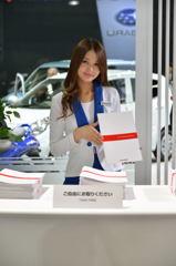 札幌モーターショー2014 スズキの女性