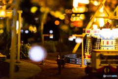 Amusement park made of Lego