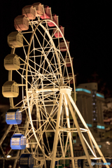 Ferris wheel made of LEGO