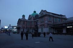 韓国 ソウル駅 夜明けの旧駅舎
