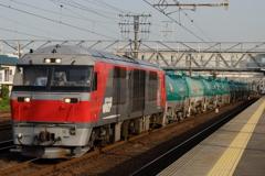 北海道から愛知へやってきたDF200形機関車!