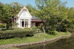 クラシッククロームで撮ったサツキとメイの家