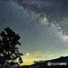 初めての。天の川撮影