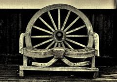 車輪の椅子