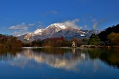 冬日の伊吹山