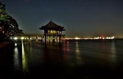 月夜の浮御堂