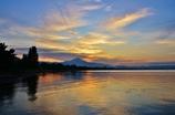 北琵琶湖の朝