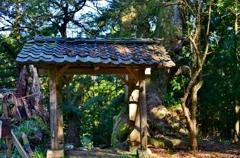 菅山寺山門