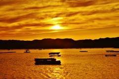 黄金の鳴門内海