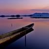 西の湖晩景