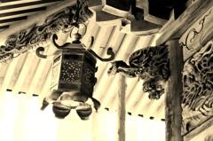 大杉神社 木鼻