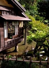 瓢池の三芳庵