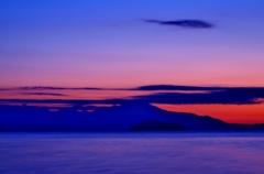 琵琶湖黎明