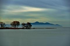琵琶湖冬景 2-1