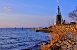 琵琶湖・堅田の出島灯台