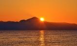伊吹山の日の出