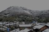 雪景・佐和山城址