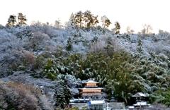 佐和山遊園雪景